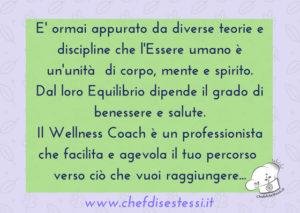 Wellness Coach professionista del benessere in un percorso di consapevolezza.